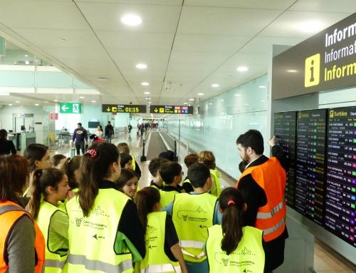 Visitem l'aeroport de Barcelona